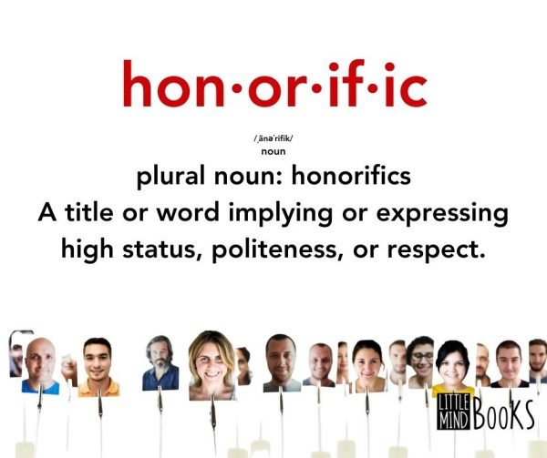 Honorific with definition